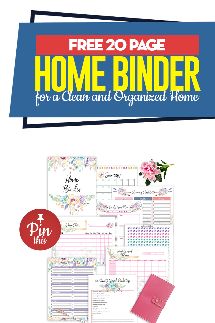 Included is a 12 month calendar! This free 8 x 10 printable home binder will make your live easier! | free 8 x 10 printables | free printables 8 x 10 | calendar printable | printable calendar | organization printables | cleaning printables | organizing printables | #freeprintables | #free8x10printables | #freeprintables8x10 | #calendarprintable | #printablecalendar | #organizationprintables | cleaningprintables | #homebinder