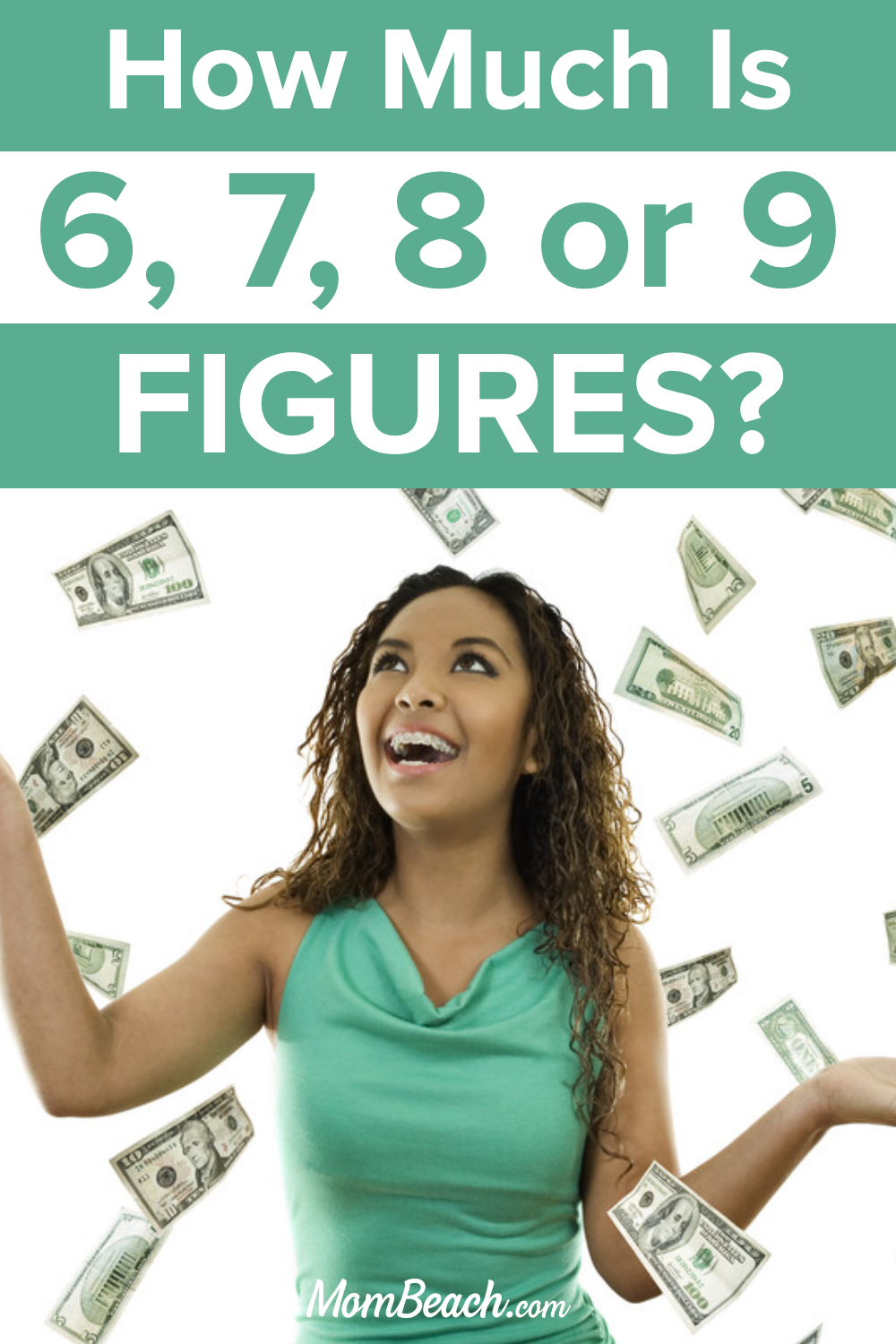 Do you know how much 6, 7, 8 or 9 figures is? Let us help you find out today with this handy guide. Never be confused again when someone says they are making six figures. How much is 6 figures? How much is 7 figures? How much is 8 figures? Let me tell you! #howmuchis6figures #howmuchis7figures #howmuchis8figures #howmuchis9figures #6figures #7figures #8figures #9figures