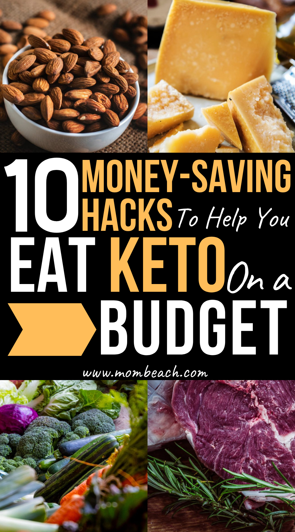 WOW you can save so much money by following these 10 tips for an easy bargain keto diet. It is perfect for beginners and experts alike to follow. You can make cheap and easy meal plans, recipes and more for breakfast, lunch and dinner. You can eat low cost keto desserts and snacks too with this guide. Lose weight with the keto diet and don't empty your savings! #ketodietforbeginners #ketodietonabudget #lowcostketo #ketomealplan #ketodiet #keto #cheapketo #easyketo