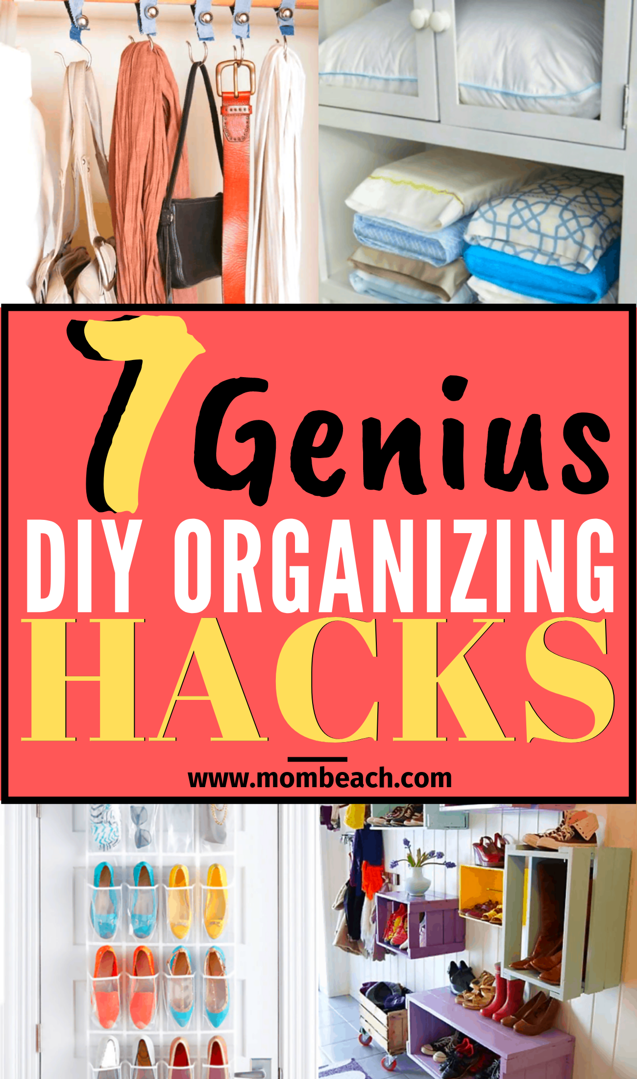 Get organized now and DIY too. Save money by DIY instead of spend hundreds at the Container Store. There are so many dollar store organization ideas that you will be shook! There are DIY organization ideas for the bedroom, for small spaces, for teens, bathrooms, the kitchen and the closet. There are even hacks for the apartment too. #diyorganization #diyorganizationideas #diyorganizationhacks #diyorganizationforsmallspaces #diyorganizationdollarstore