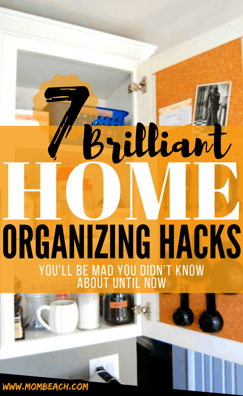 OMG these home organization hacks are useful and inspiring. Get organized and decluttered right away by utilizing these amazing ideas. Whether you are wanting to DIY or on a budget, you will find these ideas to be super helpful. Organize your closet, bathroom, bedroom, apartment and more with these clever hacks. #homeorganization #homeorganizationhacks #homeorganizationideas #homeorganizationdeclutter #homeorganizationdiy #homeorganizationonabudget