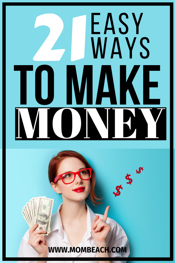 STOP spending money to make money! You won't have to invest anything to make money online from home fast. These 21 free ways will help you make money on the side easily. Stay at home moms can use these ways too! #makemoney #makemoneyonline #makemoneyfromhome #makemoneywithoutspending #makemoneywithoutinvestment #makeextracash #earnextramoney
