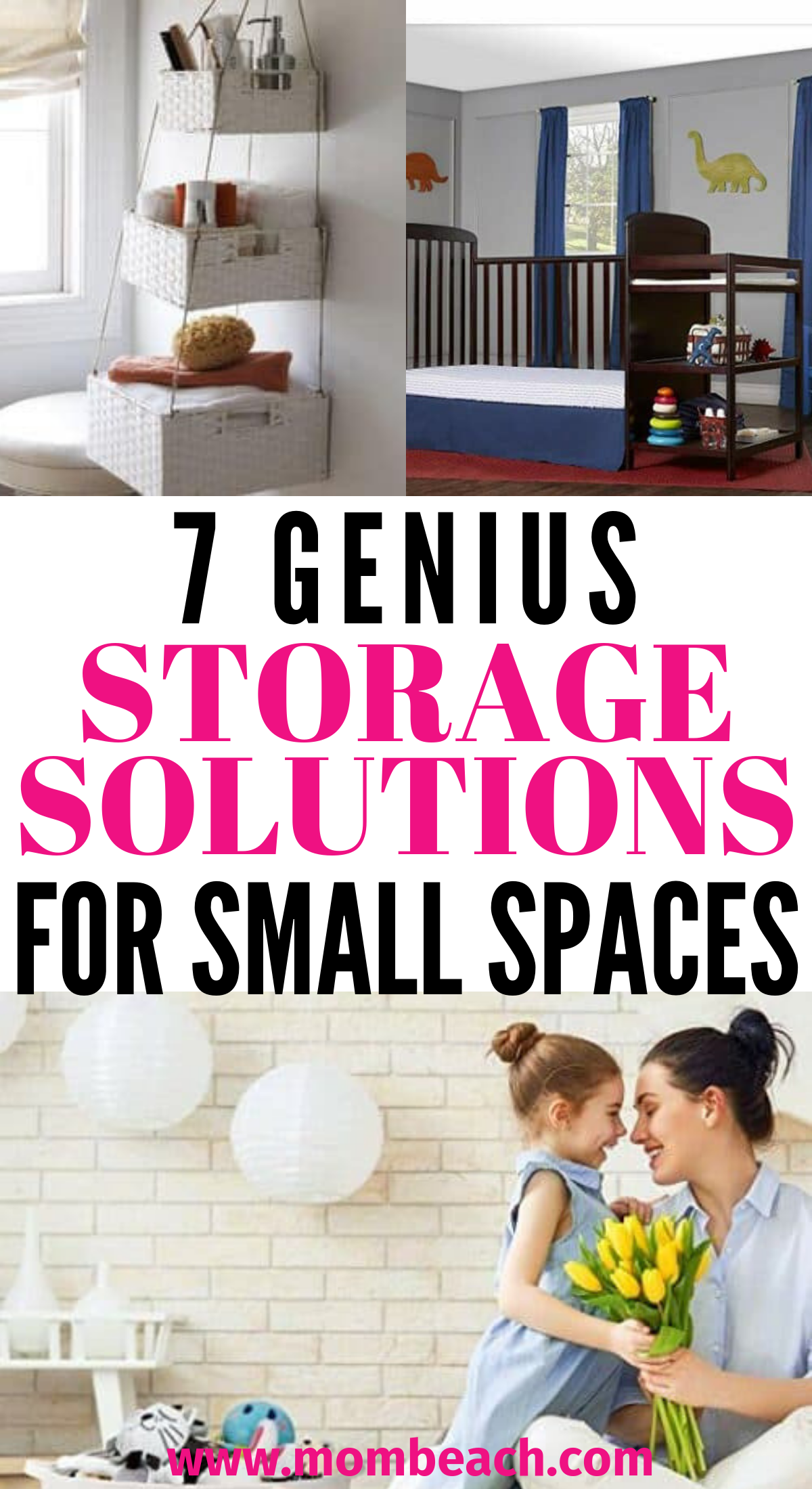 OMG these 7 awesome storage ideas for small spaces on a budget are awesome! They are all so helpful and inspiring! You can get your small space organized quickly with these simple and easy ideas to help you maximize your space. Use baskets, pallets, wipe containers and more! These storage ideas for small spaces are great for an apartment, or tiny houses. #storageideasforsmallspaces #organizationideas #storageideas #tinyhousestorageideas #apartmentstorageideas #organzation #storagebaskets
